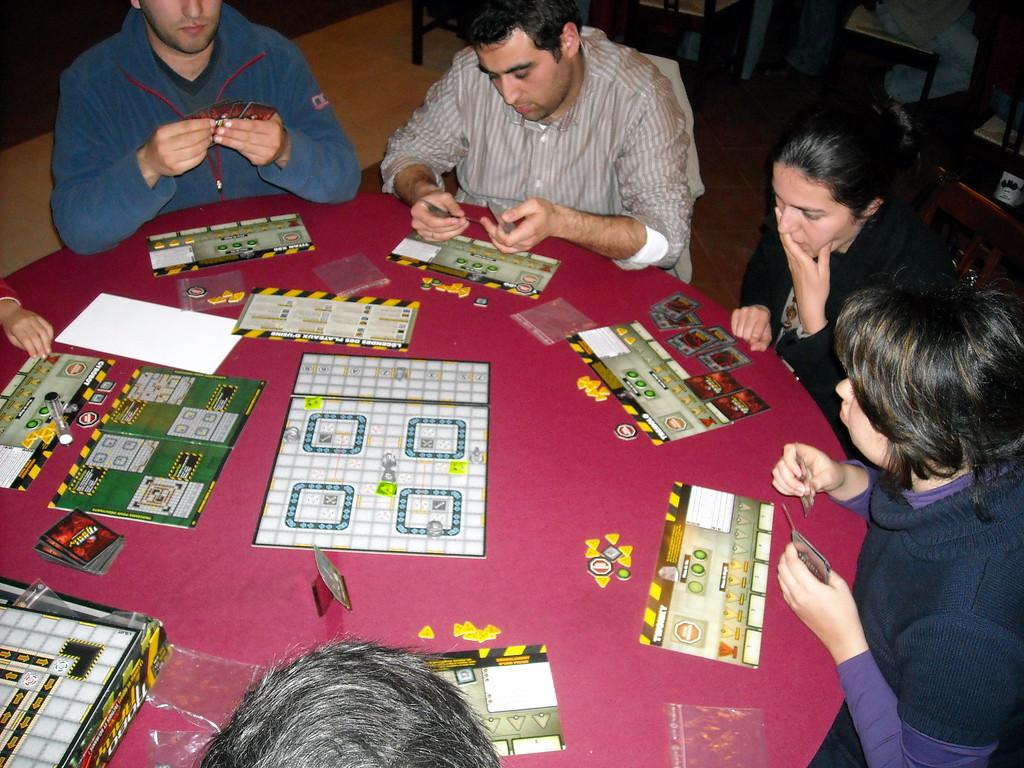 Roborally na LeiriaCON2009