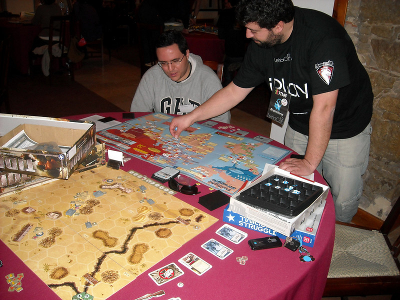 Twilight Struggle & Tide of Iron @ LeiriaCON2009
