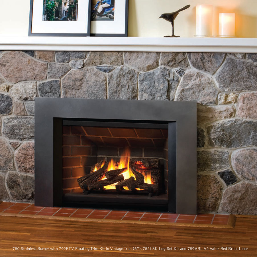 montego hotshot gas fireplace insert turns your drafty fireplace