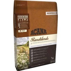 Acana Ranchlands hundefoder, Regionals