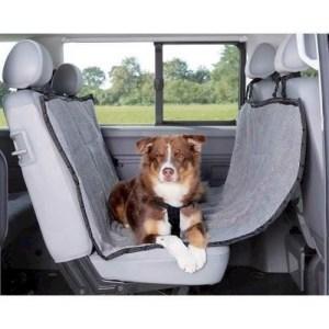 Auto sædebeskyttelse - hundetæppe til bagsædet i bilen