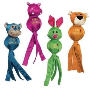 Kong Wubba Ballistic Friend - sjove farverige bamser