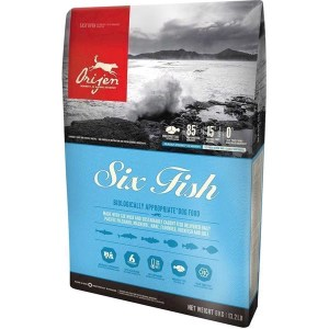 Orijen Six Fish hundefoder, 6 kg