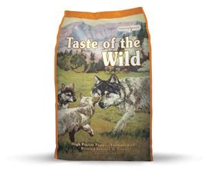 Puppy High Prairie bison 13 kg - Taste of the Wild - M/GRATIS LEVERING OG GRATIS GODBIDDER