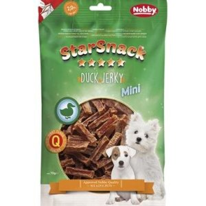 StarSnack Mini Hunde Snack Godbidder - Med Ande Stænger - 70g - 2% Fedt