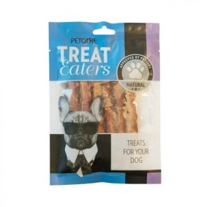 Treateaters Hunde Snack Råhud - Med Twisted And - 70g
