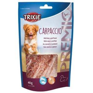 Trixie Hunde Snack Godbidder Premio Carpaccio Med And Og Fisk, 40g