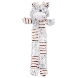 Trixie Hundelegetøjs Bamse Tyr i Plys - 52cm - Med knitrelyd og Uden Fyld - - - -