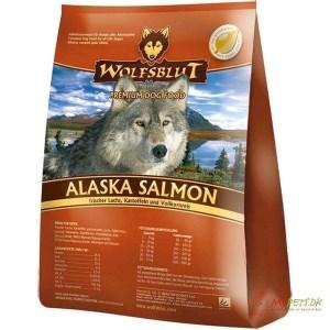 WolfsBlut Alaska Salmon Adult hundefoder, 2 kg