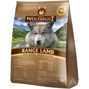 WolfsBlut Range Lamb Adult hundefoder, 15 kg