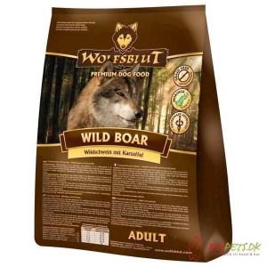 WolfsBlut Wild Boar Adult med vildsvin, 15 kg
