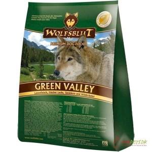 Wolfsblut Green Valley Adult lam & fisk, 15 kg