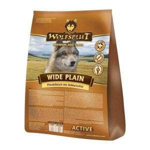 Wolfsblut Wide Plain ACTIVE Adult, med hest, 15 kg
