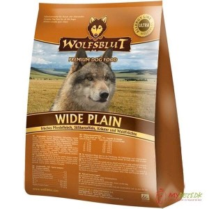 Wolfsblut Wide Plain Adult med hest, 2 kg