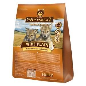 Wolfsblut Wide Plain PUPPY, med hest, 15 kg
