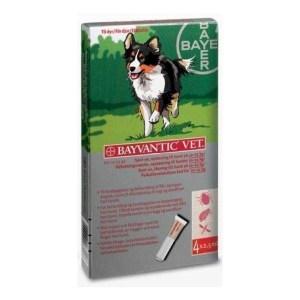 Bayvantic loppemiddel til hunde 10-25 kg
