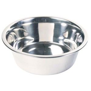 Hundeskål i rustfri stål, 0,75 liter