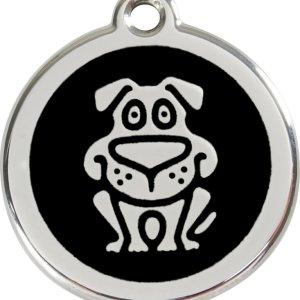 Red Dingo Hundetegn Hund - Sort - Small