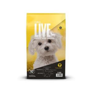 7 kg. ProBiotic LIVE Puppy MINI med Kalkun - hvalpefoder