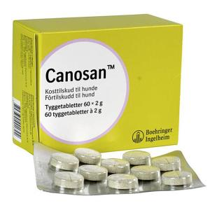 Canosan tyggetabletter, 60 stk.