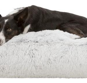 Harvey Hundemadras, hvid/sort