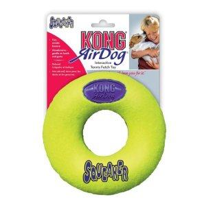 KONG AirDog Squeaker Donut Tennisbold
