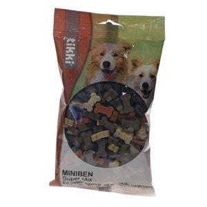 Tikki Hunde Snack Godbidder Miniben Super Mix - 200g - - - - -