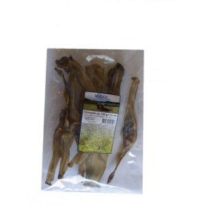 Whesco Hunde Snack Godbidder Naturlige Kaninører - 100g - Tørret - - - - -
