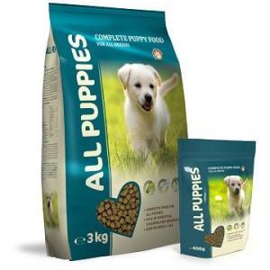 ALL PUPPIES - 3kg Premium hvalpe foder - til alle racer - med kylling og fisk