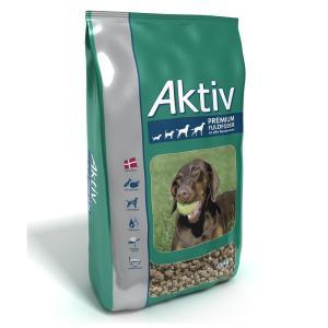Aktiv Premium hundefoder 15kg - hundemad baseret på fjerkræ og fisk