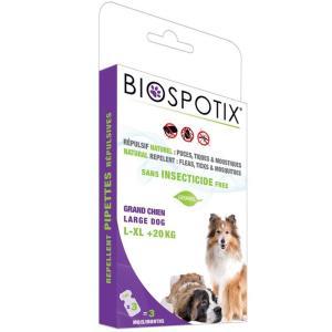 Biospotix pipetter - loppemiddel til hunde +20 kg