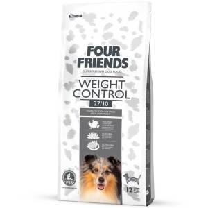 Four Friends hundefoder til vægtkontrol - ingen gluten