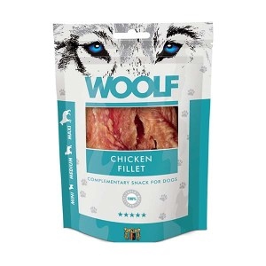 Hundegodbid Woolf chicken filet 100 g