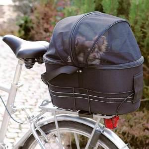 Hundekurv til cykel til hunde op til 8 kg