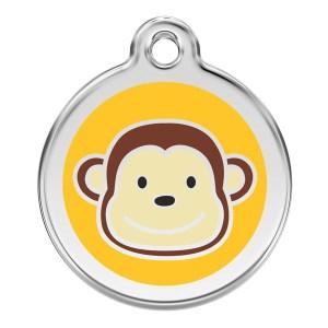Hundetegn med abe small