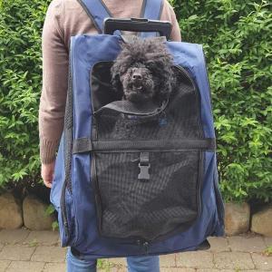 PetDreams trolley taske med hjul og skulderstropper