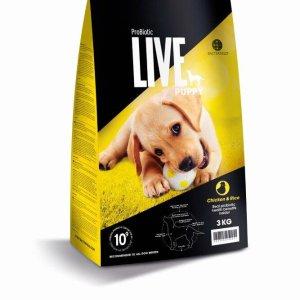3 kg. ProBiotic LIVE Puppy med Kylling - hvalpefoder