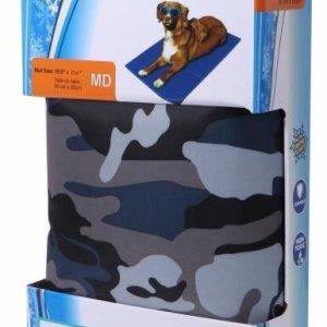 Kw Kølende Hundetæppe i Camuflage Farver - Flere Størrelser