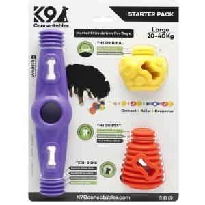 K9 Connectables startpakke med 3 legetøj, der kan sammensættes