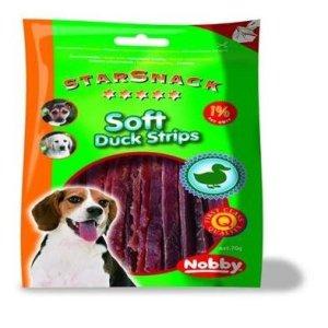 Starsnack Hunde Snack Godbidder Ande Stænger - 70g - Bløde - 87% Kød - Kun 2% Fedt