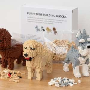 Hundehvalp Mini 3D-byggesæt - Cockerpoo
