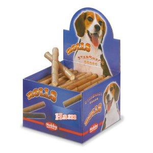 Starsnack Hunde Snack Godbidder Rulle Med Skinke Fyld, 1stk