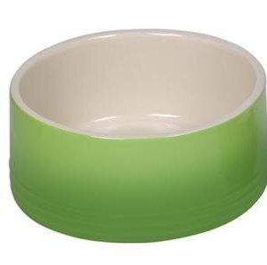 Nobby Gradient Hundeskål i Keramik - Flere Størrelser Grøn