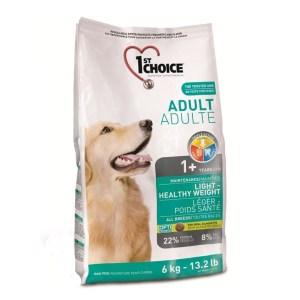 1st Choice Light Diæt hundefoder, 6 kg