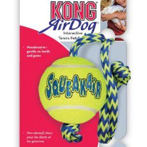 AirKong Squeaker tennisbold m. Reb, Medium