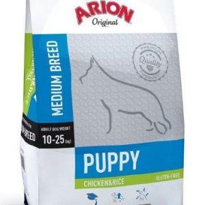 Arion Original Puppy Medium kylling og ris 3kg