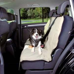Bilsædebeskyttelse 1,4x1,2 M beige