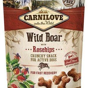 Carnilove Crunchy Wild Boar snack 200g
