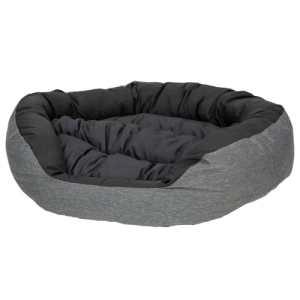 Coop hundekurv - Wonto - Medium - Sort/grå