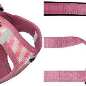 Curli Vest sele Air-Mesh & line Pink tern 2XS